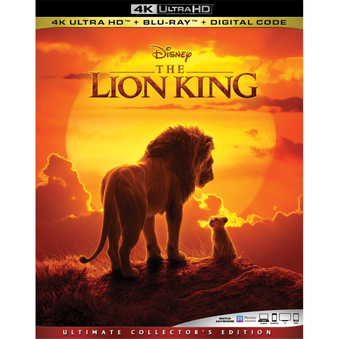 The Lion King 4k And Digital Release Set For October Release